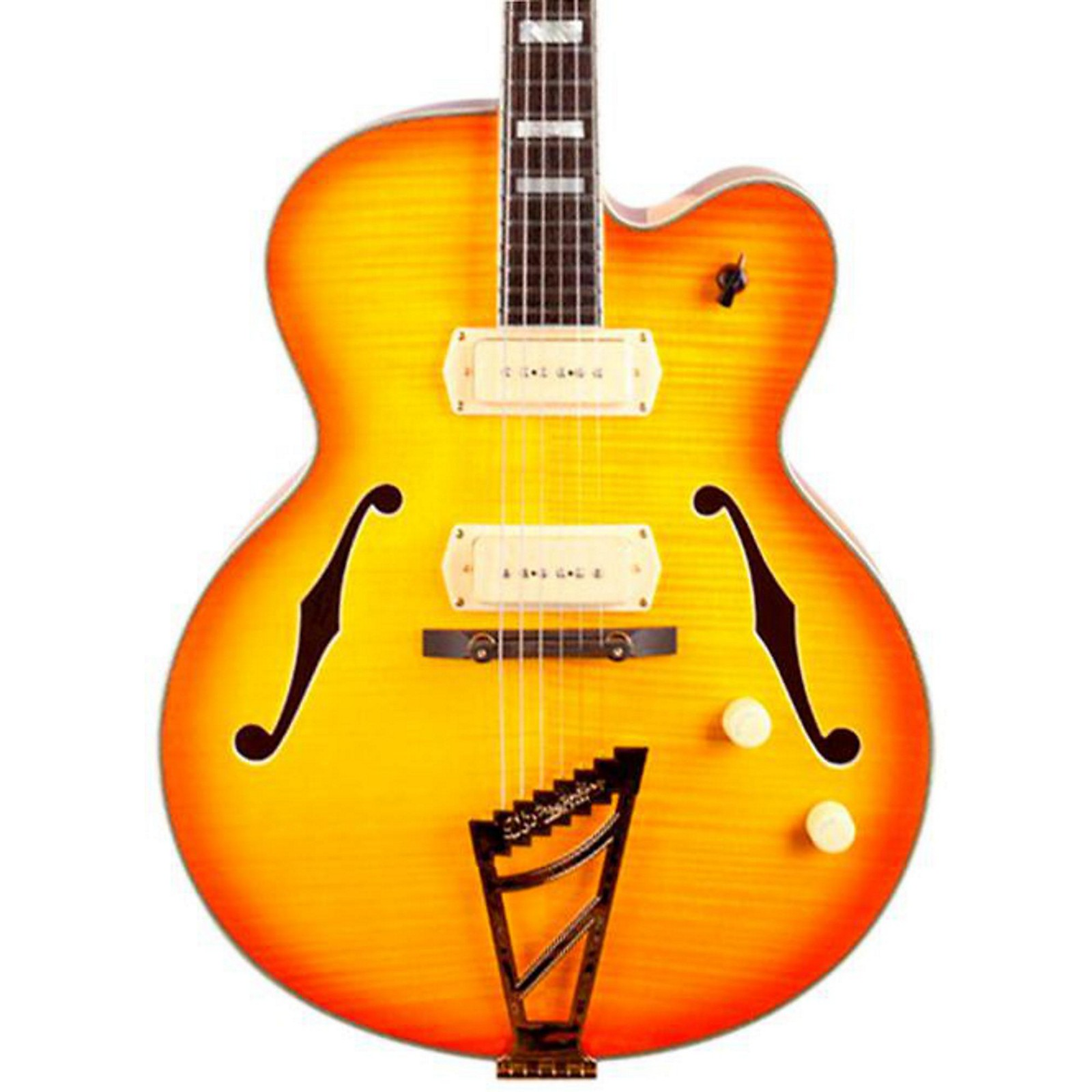 Open Box D'Angelico Excel Series 59 Hollowbody Electric Guitar with Stairstep Tailpiece
