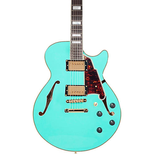 Open Box D'Angelico Excel Series SS Semi-Hollow Electric Guitar with Stopbar Tailpiece