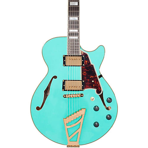 Open Box D'Angelico Excel Series SS Semi-Hollowbody Electric Guitar with Stairstep Tailpiece