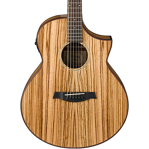 Open Box Ibanez Exotic Wood AEW40ZW-NT Acoustic-Electric Guitar