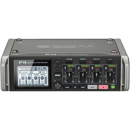 Open Box Zoom F4 MultiTrack Field Recorder