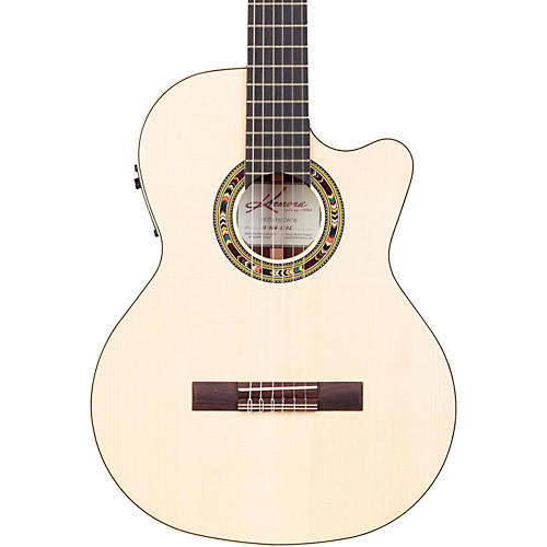Open Box Kremona F65CW Fiesta Cutaway Acoustic-Electric Classical Guitar