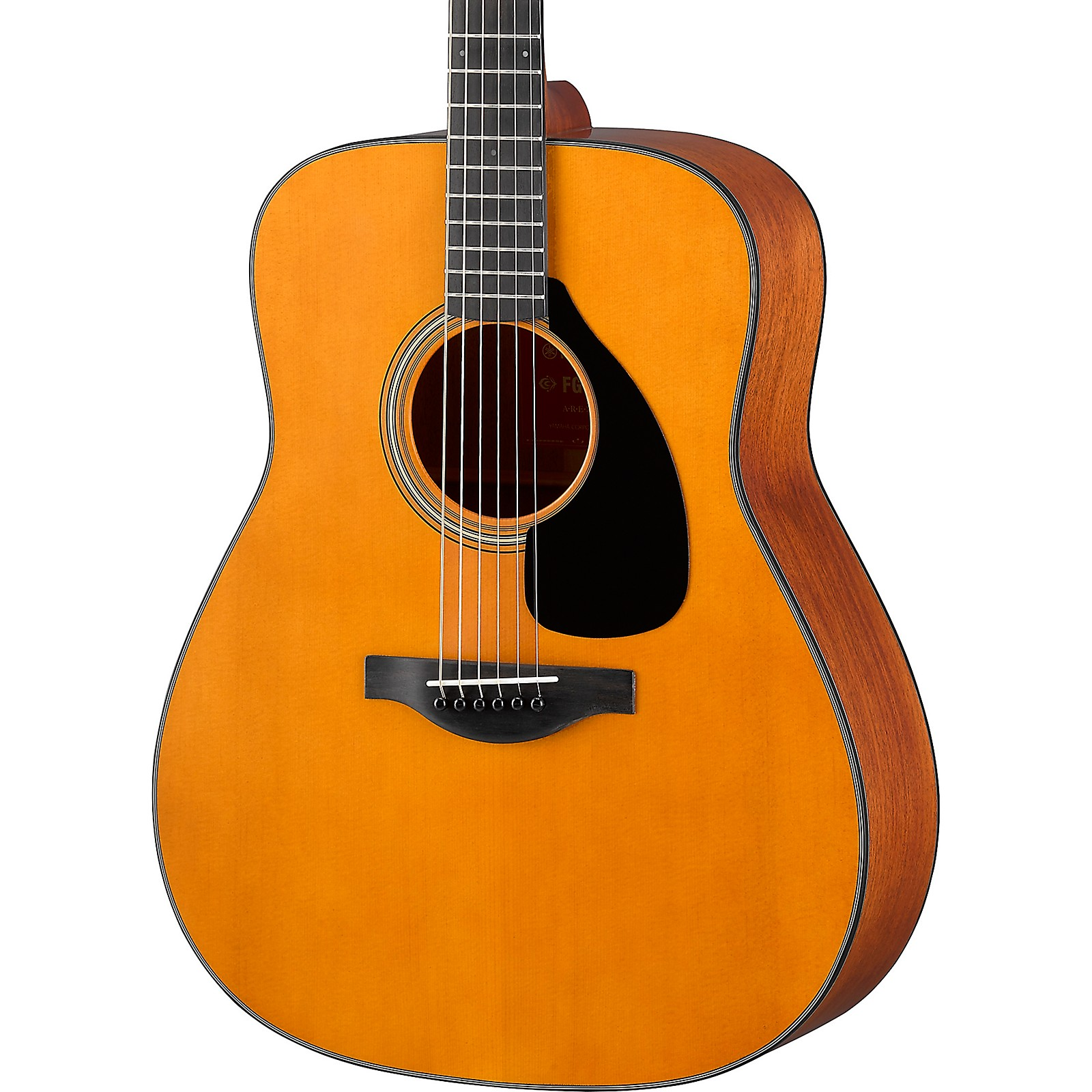 Open Box Yamaha FG3 Red Label Dreadnought Acoustic Guitar
