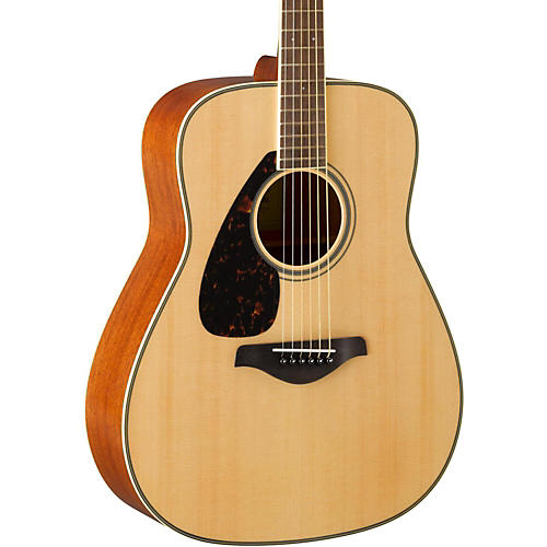 Open Box Yamaha FG820L Dreadnought Left-Handed Acoustic Guitar