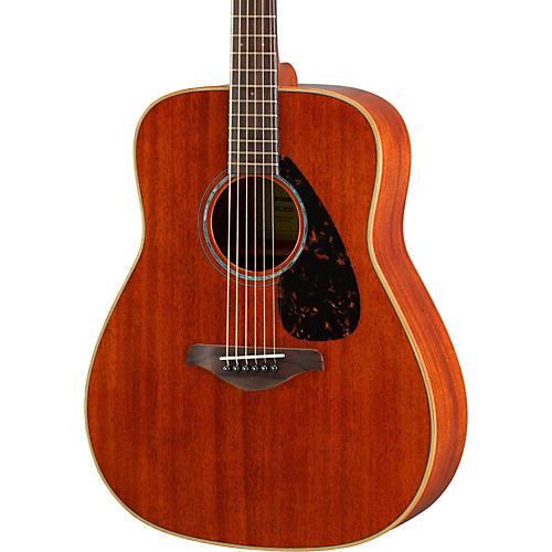 Open Box Yamaha FG850 Dreadnought Acoustic Guitar