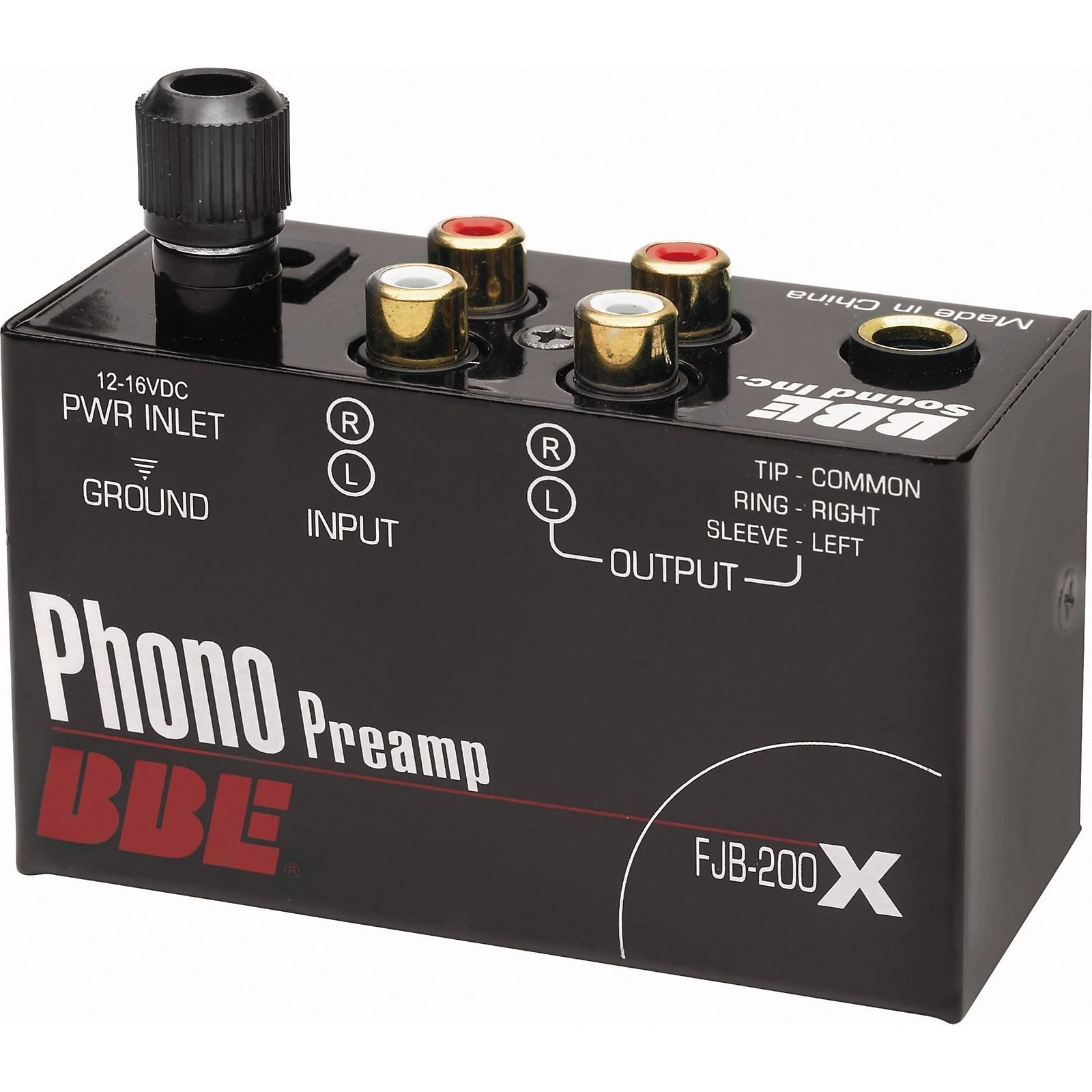 Open Box BBE FJB-200X Phono Preamp