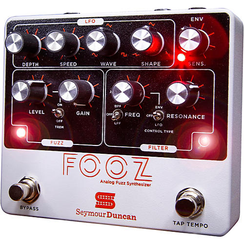 Open Box Seymour Duncan FOOZ Analog Fuzz Synth Effects Pedal