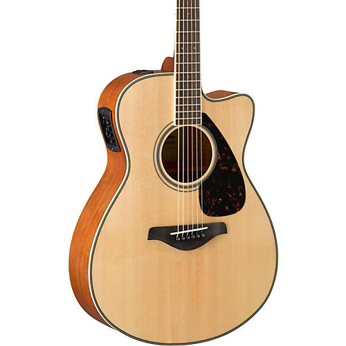 Open Box Yamaha FSX820C Small Body Acoustic-Electric Guitar