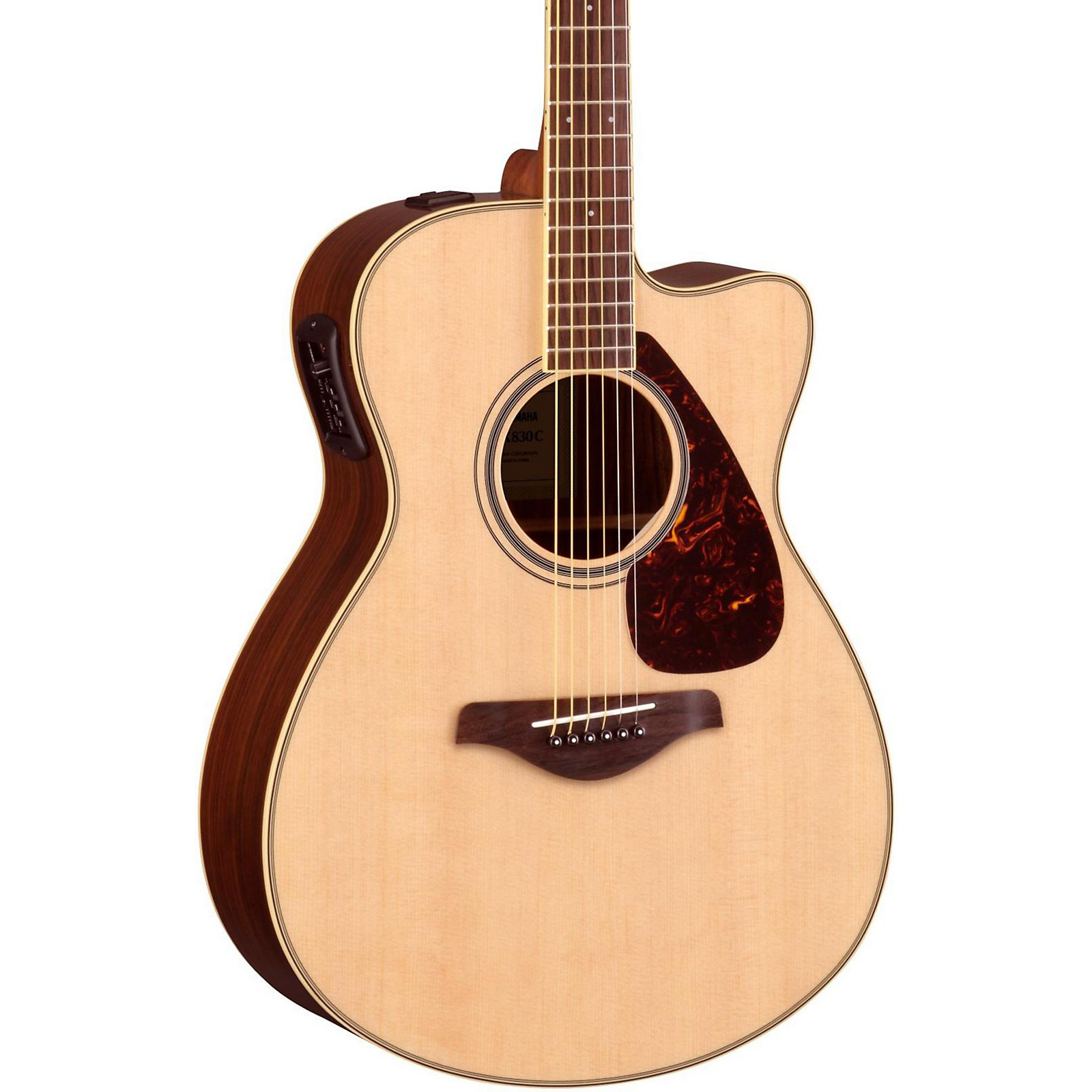 Open Box Yamaha FSX830C Acoustic-Electric Guitar
