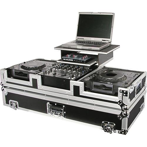 Open Box Odyssey FZGS12CDJW Glide Style DJ Coffin Case