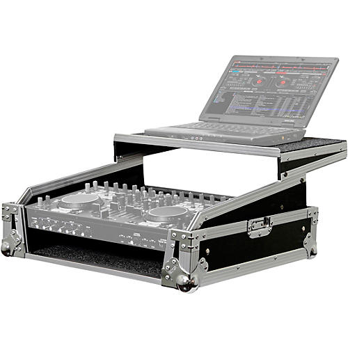 Open Box Odyssey FZGS8CDMIX Flight Zone Glide Style Rackmount Case for DJ Controllers & Front Load CD/Digital Media Mixers