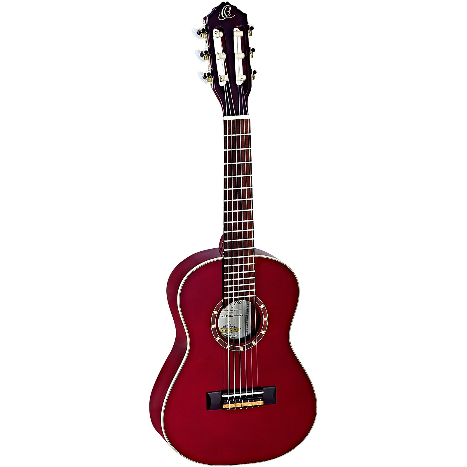 Open Box Ortega Family Series R121-1/4WR 1/4 Size Classical Guitar