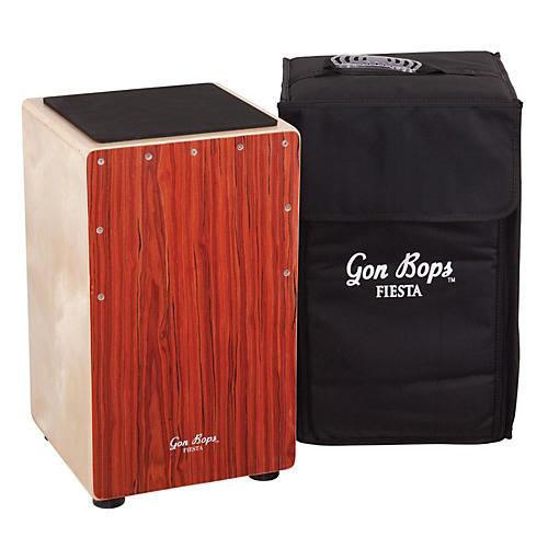 Open Box Gon Bops Fiesta Cajon Mahogany Front Plate