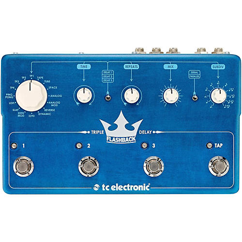 Open Box TC Electronic Flashback Triple Delay Guitar Effects Pedal