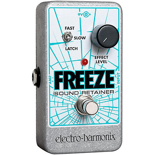 Open Box Electro-Harmonix Freeze Sound Retainer Compression Guitar Effects Pedal