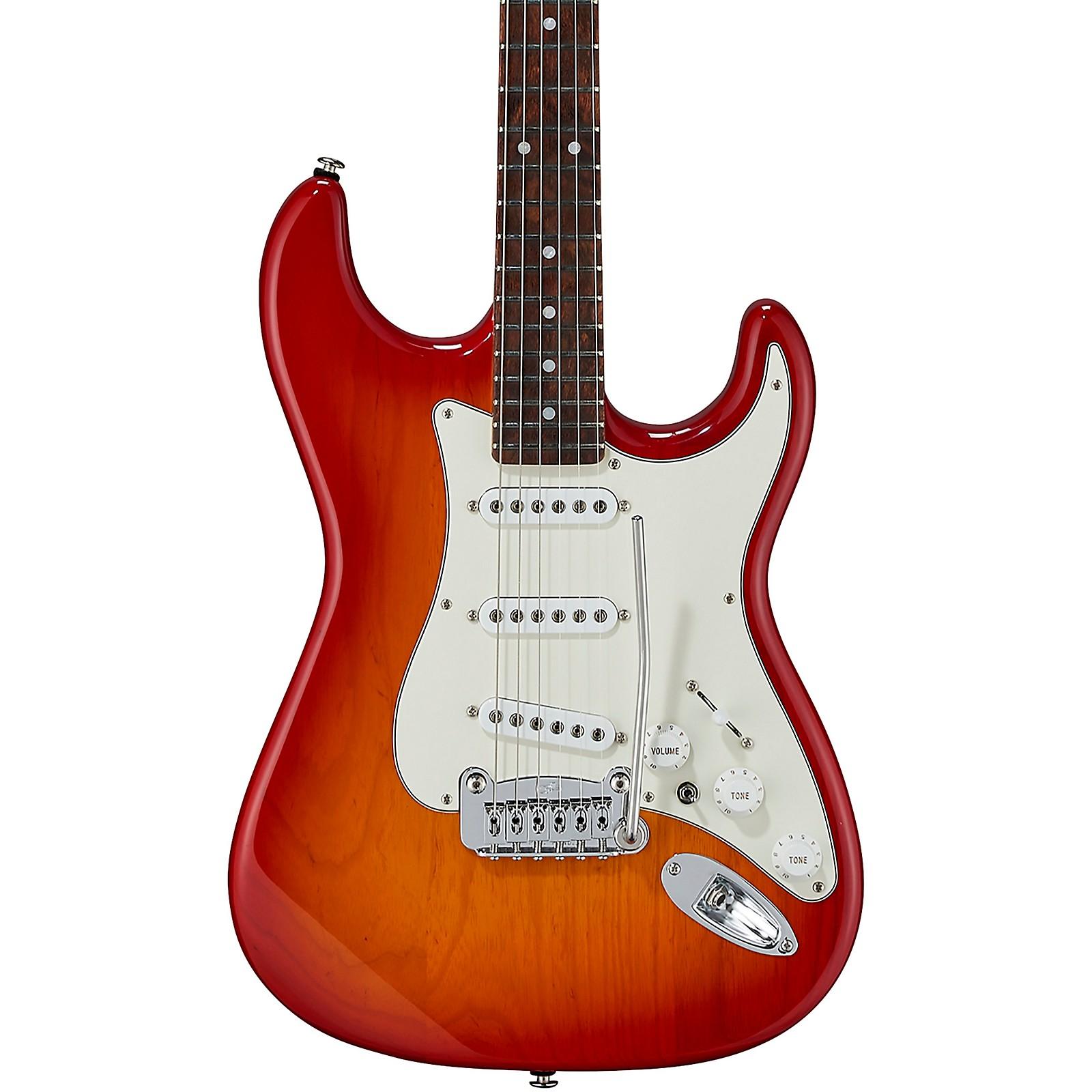 Open Box G&L Fullerton Deluxe S-500 Caribbean Rosewood Fingerboard Electric Guitar