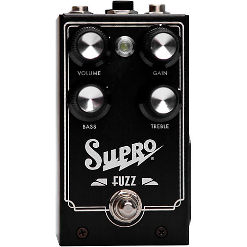 Open Box Supro Fuzz Guitar Effects Pedal