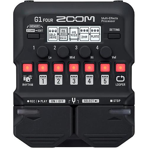 Open Box Zoom G1 FOUR Guitar Multi-Effects Processor