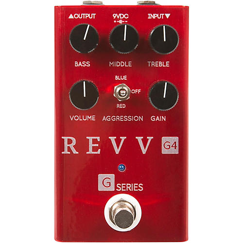 Open Box Revv Amplification G4 Distortion Effects Pedal