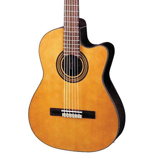 Open Box Ibanez GA Series GA6CE Classical Cutaway Acoustic-Electric Guitar