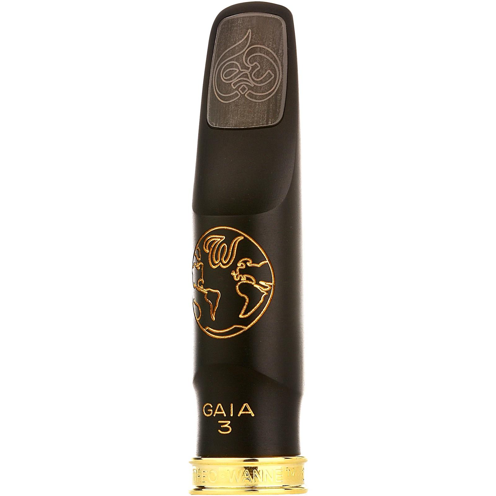 Open Box Theo Wanne GAIA 3 Hard Rubber Tenor Saxophone Mouthpiece