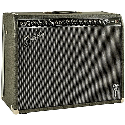 Open Box Fender GB George Benson Twin Reverb 2x12 Guitar Combo Amp
