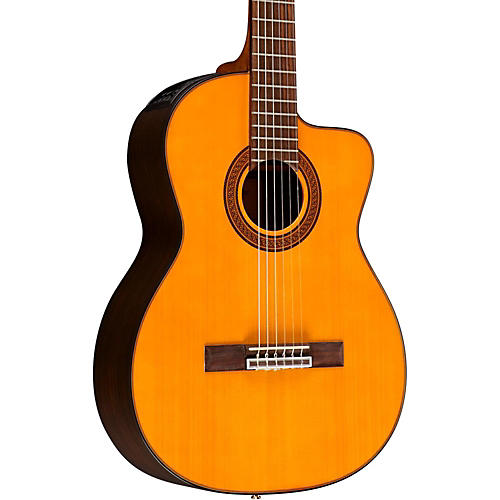 Open Box Takamine GC5CE Classical Acoustic-Electric Guitar