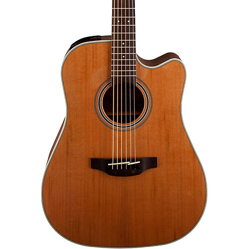 Open Box Takamine GD20CE-NS Dreadnought Cutaway Acoustic-Electric Guitar