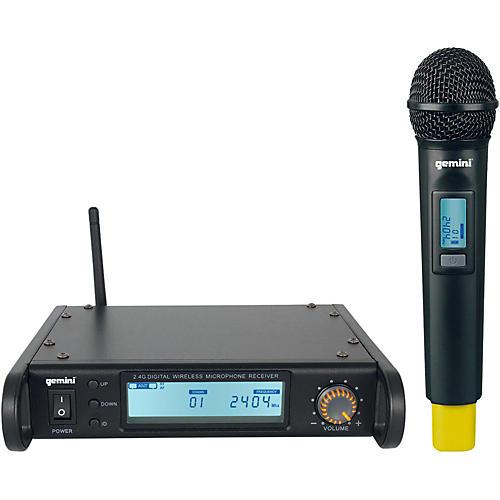 Open Box Gemini GDX-1000M Digital Wireless Microphone system
