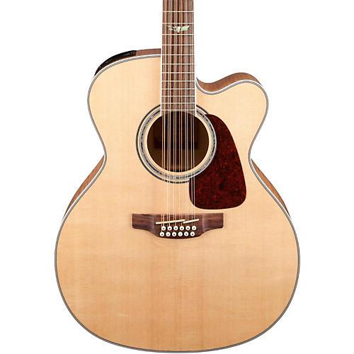 Open Box Takamine GJ72CE-12 G Series Jumbo Cutaway 12-String Acoustic-Electric Guitar