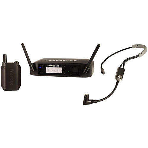 Open Box Shure GLX-D Digital Wireless Headset System with SM35 Headset Microphone