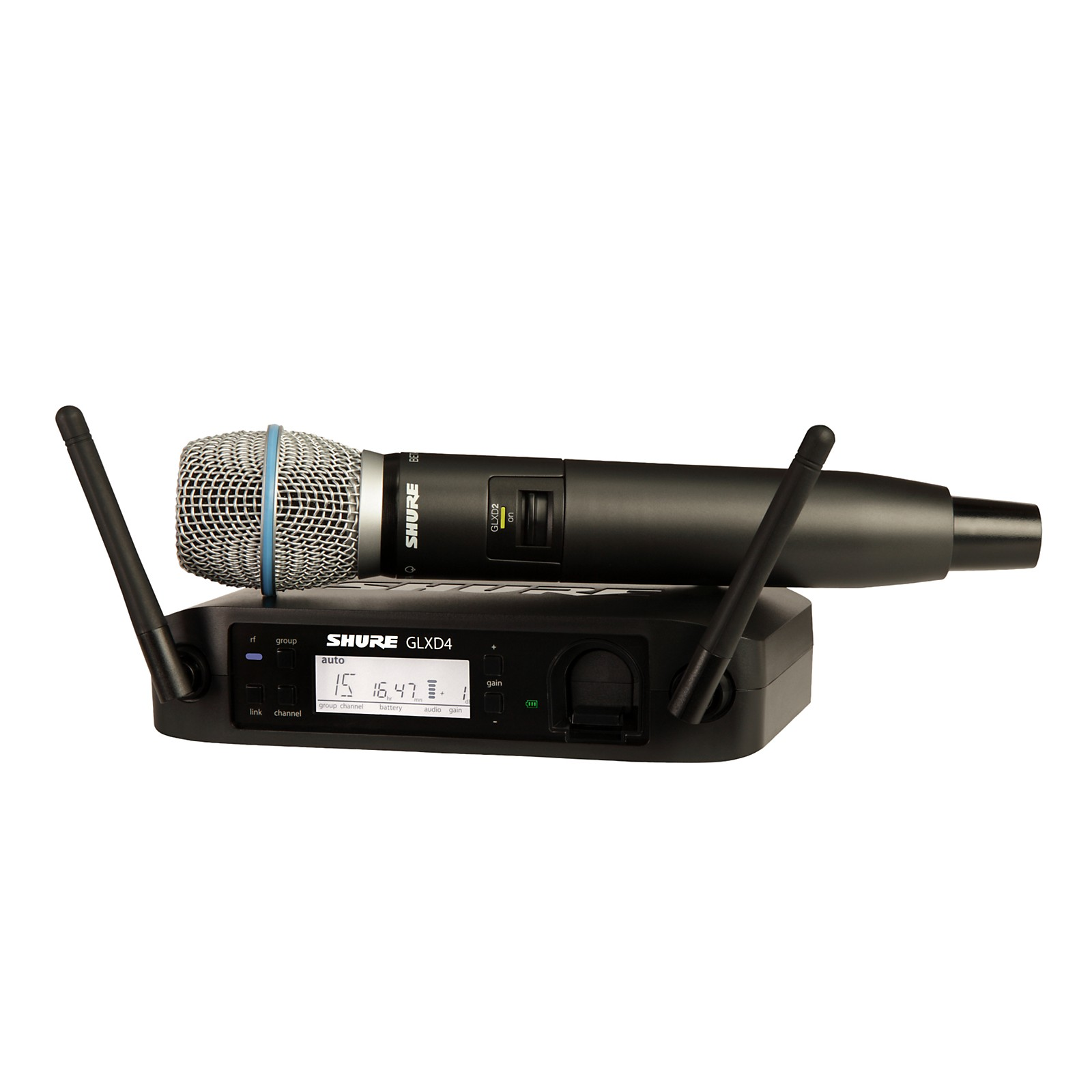 Open Box Shure GLX-D Wireless Vocal System with Beta 87A Mic