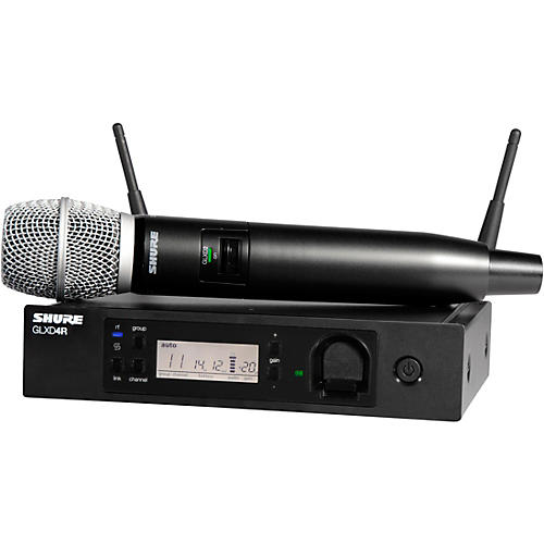 Open Box Shure GLXD24R/SM86 Advanced Wireless System with SM86 Microphone
