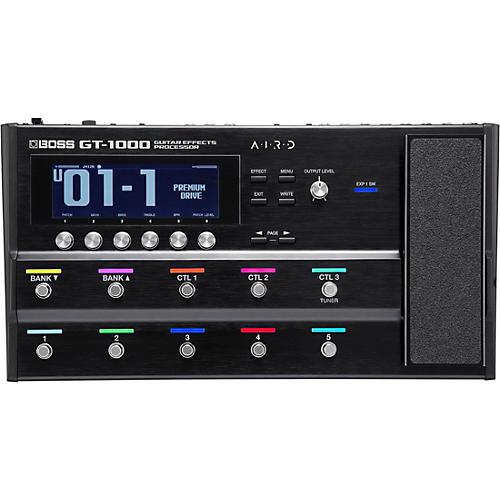 Open Box Boss GT-1000 Multi-Effects Guitar Pedal
