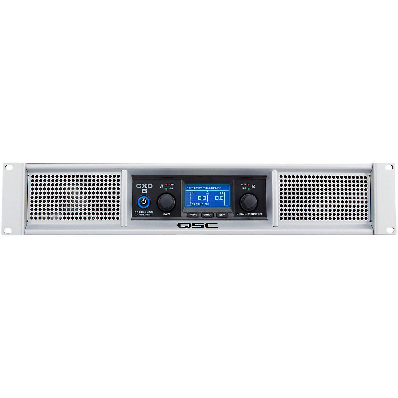 Open Box QSC GXD 8 Professional Power Amplifier
