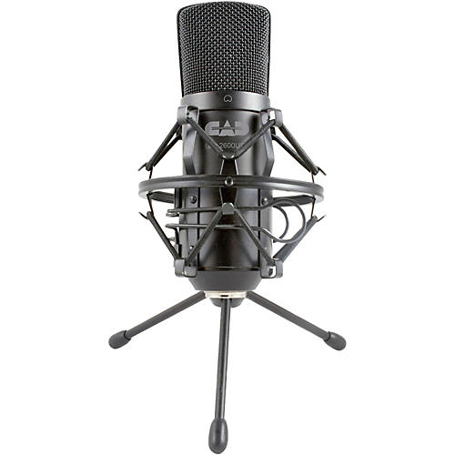 Open Box CAD GXL2600USB Large Diaphragm USB Studio Condenser Microphone