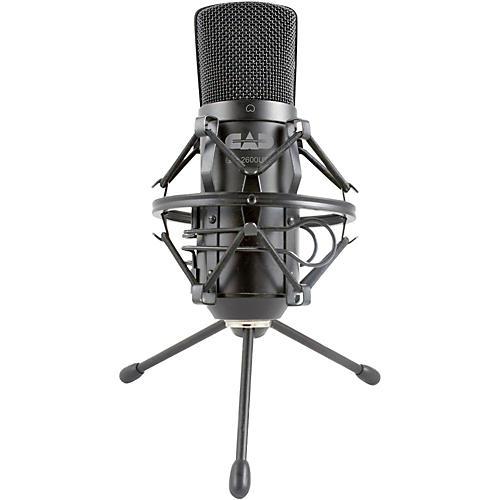 Open Box CAD GXL2600USB Large Diaphragm USB Studio Condenser Microphone