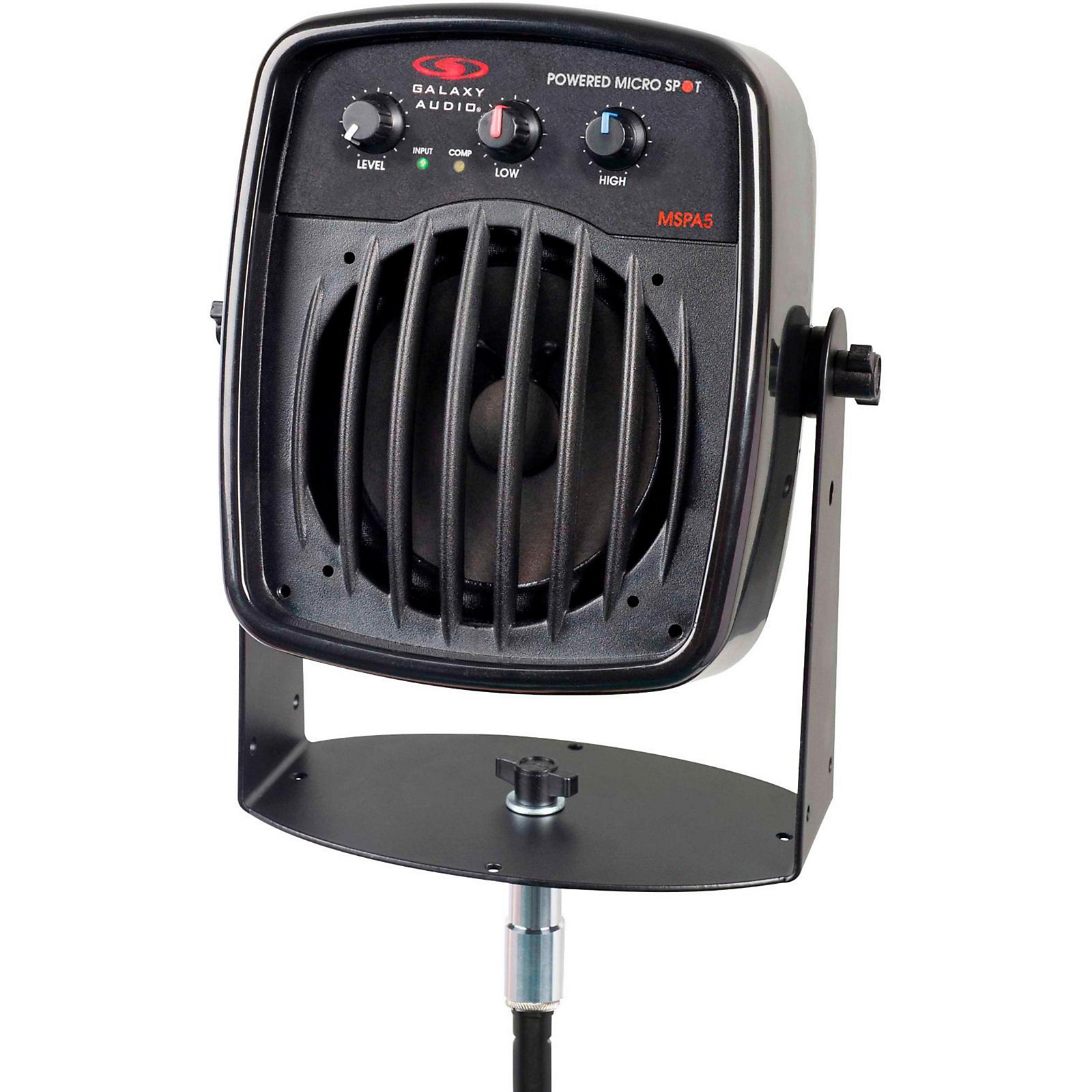 Open Box Galaxy Audio Galaxy Audio MSPA5 100W Powered Micro Spot  Compact Personal Hot Spot Stage Monitor<br>