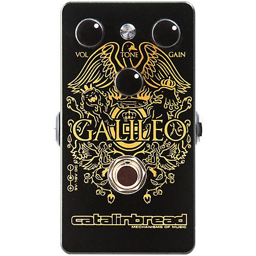 Open Box Catalinbread Galileo Distortion Guitar Effects Pedal