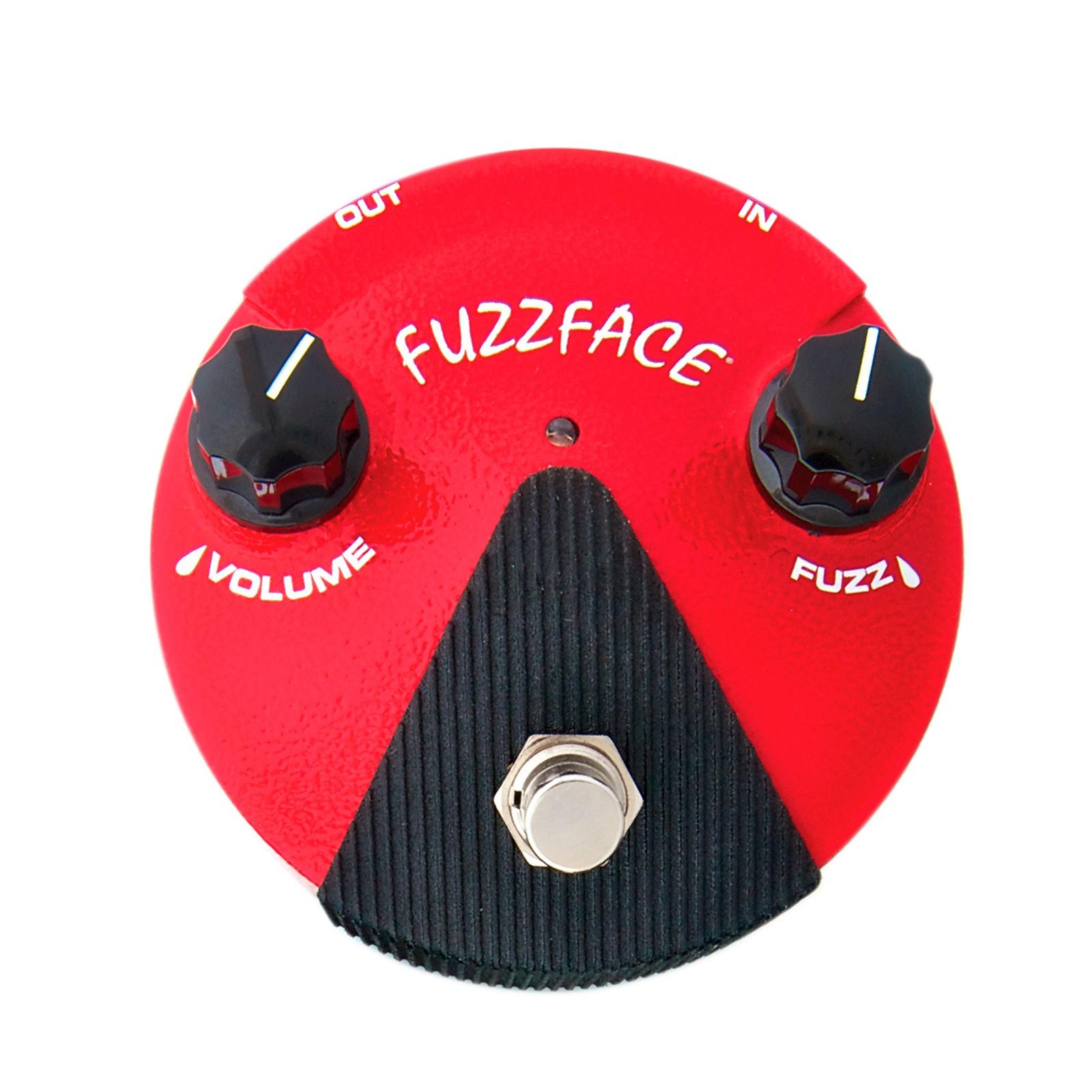 Open Box Dunlop Germanium Fuzz Face Mini Red Guitar Effects Pedal