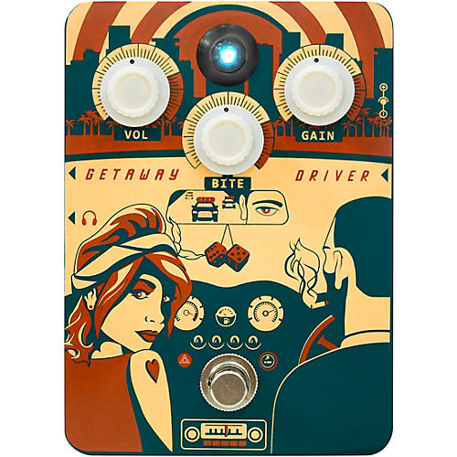Open Box Orange Amplifiers Getaway Driver DI Box and Drive Effects Pedal