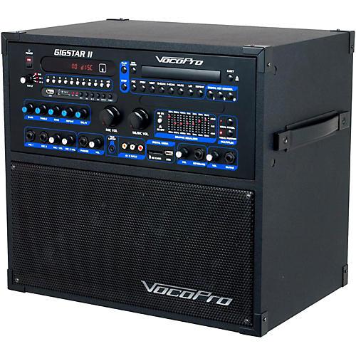 Open Box VocoPro Gigstar II Portable 100W 4-Channel PA/Karaoke System