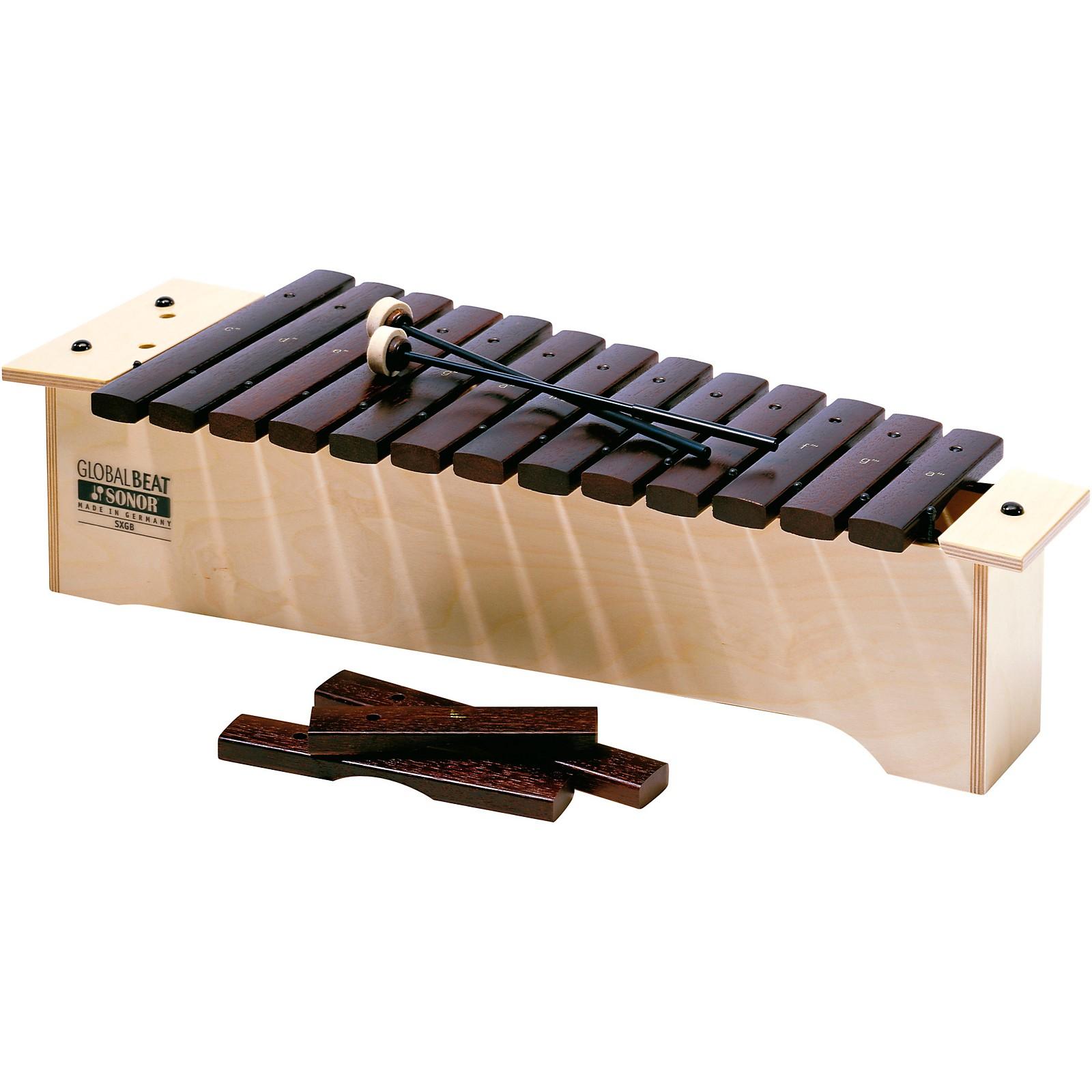Open Box Sonor Orff Global Beat Xylophones