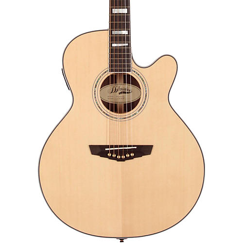 Open Box D'Angelico Gramercy Sitka Grand Auditorium Cutaway Acoustic-Electric Guitar