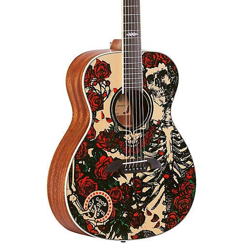 Open Box Alvarez Grateful Dead OM Acoustic Guitar