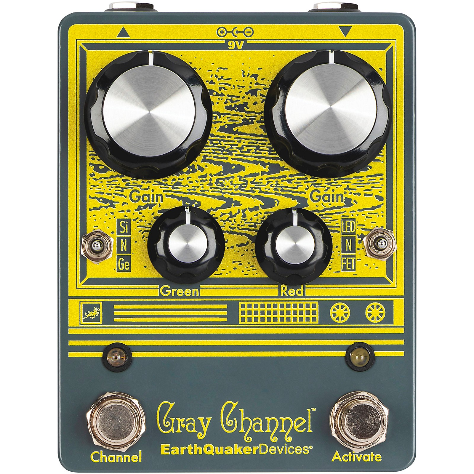 Open Box EarthQuaker Devices Gray Channel - Dynamic Dirt Doubler Overdrive Effects Pedal