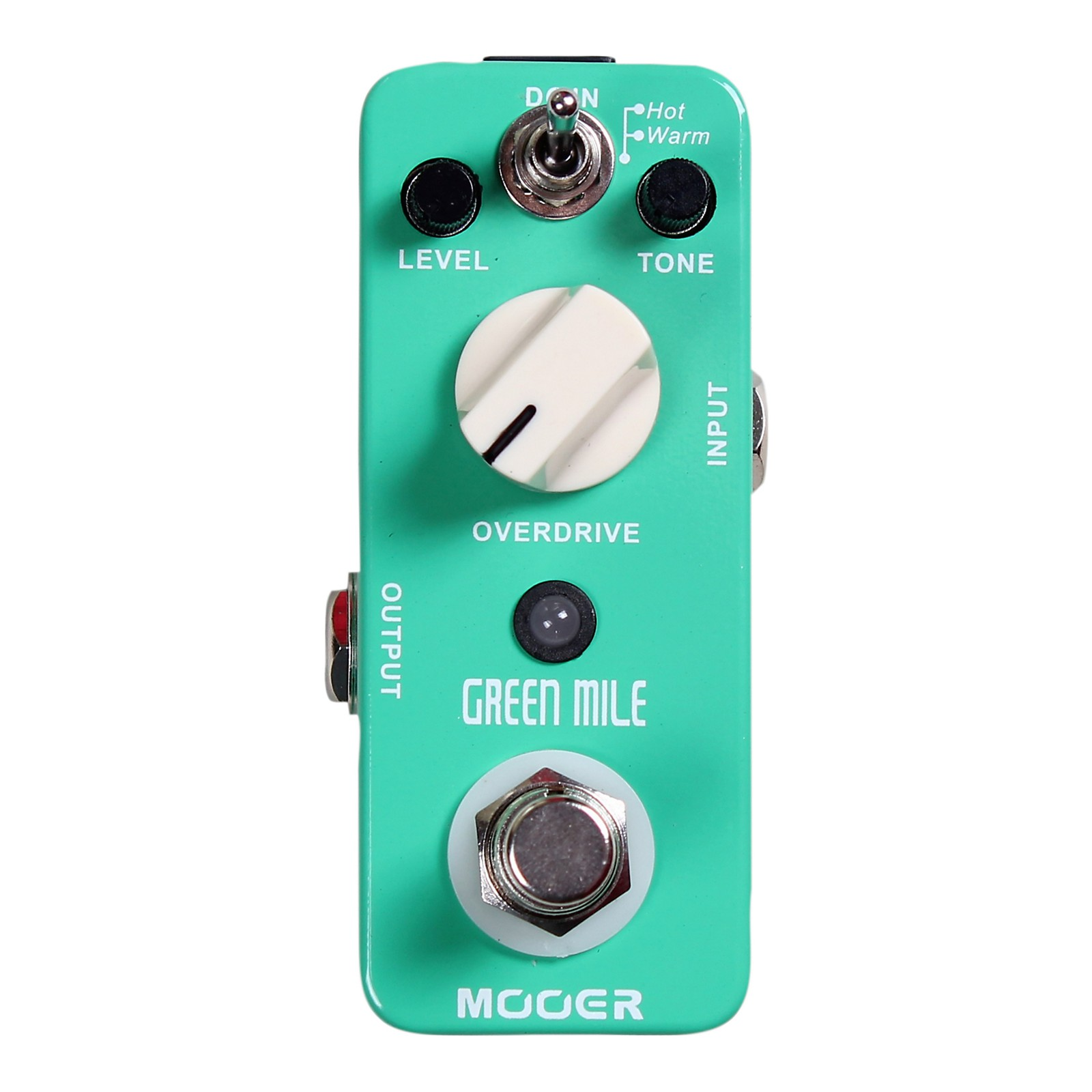 Open Box Mooer Green Mile Overdrive Guitar Effects Pedal