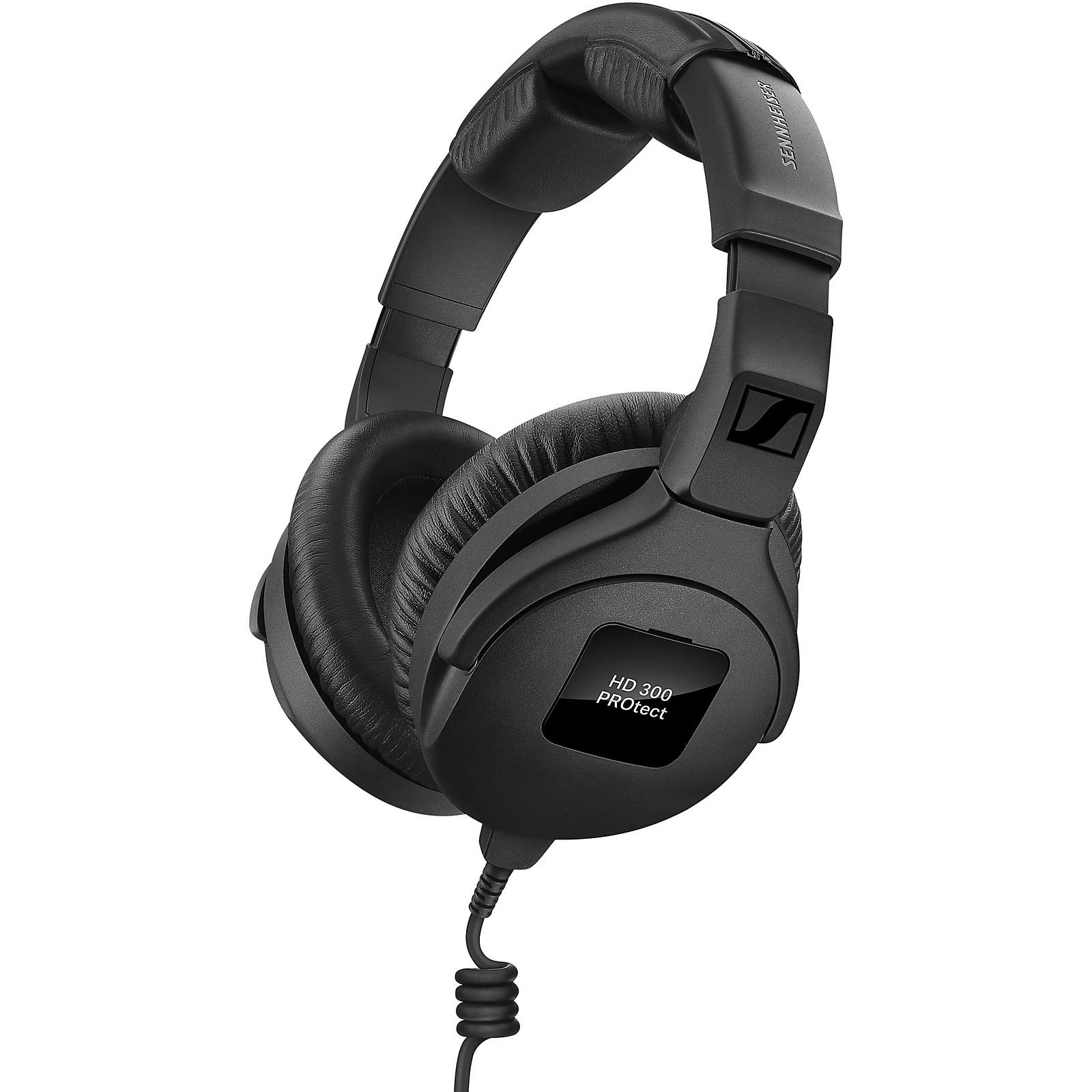 Open Box Sennheiser HD 300 PROtect Studio Monitoring Headphones