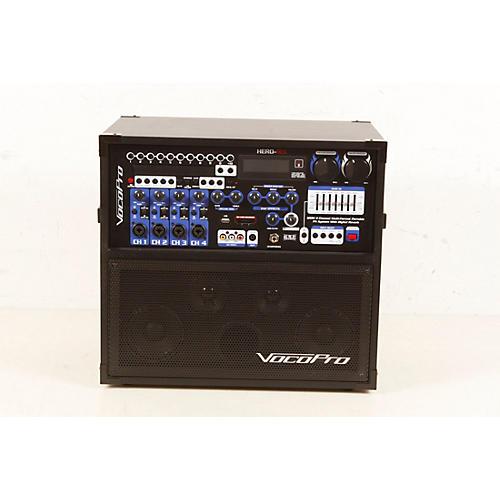 Open Box VocoPro HERO-REC UHF Multi-Format Portable PA Karaoke System with Digital Recorder & UHF Wireless System