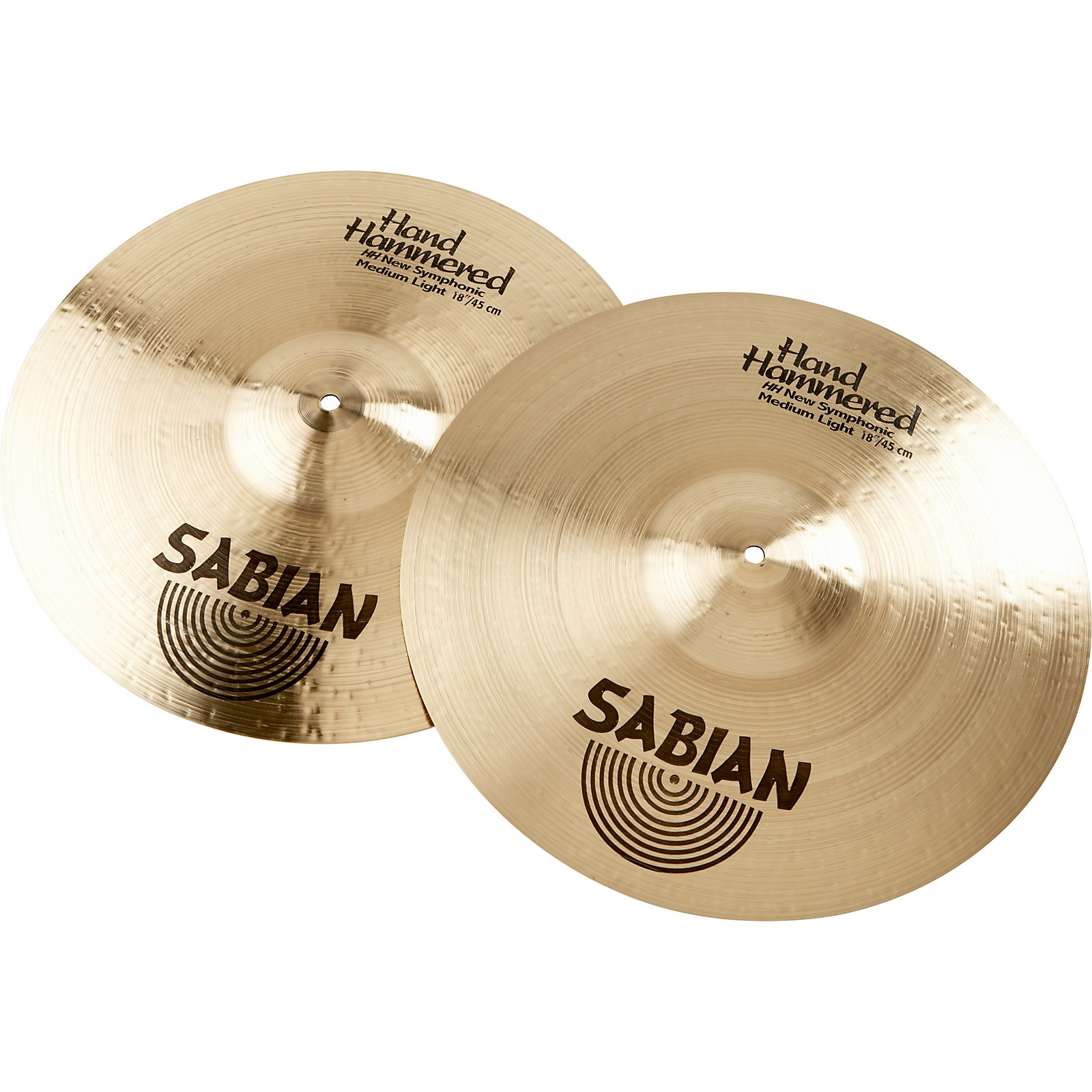 Open Box Sabian HH New Symphonic Medium Light Series Orchestral Cymbal